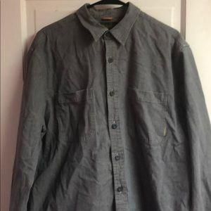 Timberland Dress Shirt XL gray color for men